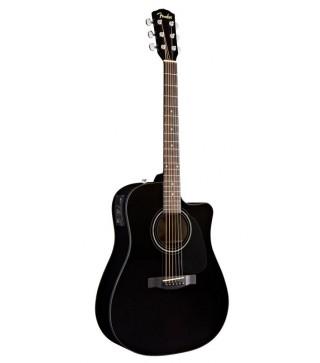 Fender CD60CE Acoustic/Electric Guitar Black