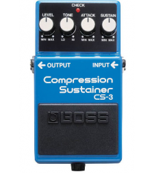 BOSS CS-3 COMPRESSION/SUSTAINER PEDAL