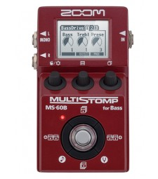 Zoom MS-60B Bass Guitar Multi-Effects Pedal