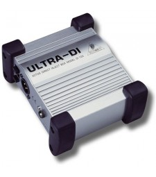 Behringer Ultra-DI DI100 Battery/Phantom Powered DI Box