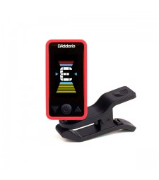 D'Addario Eclipse Chromatic Clip-On Tuner (Red)