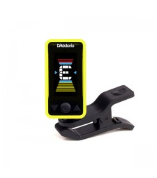 D'Addario Eclipse Chromatic Clip-On Tuner (Yellow)