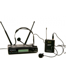 ASHTON AWM200BP WIRELESS LAPEL & HEADSET SYSTEM