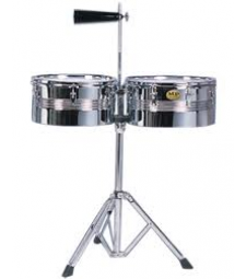 Mano Percussion Timbales + Stand + Cowbell