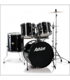 ASHTON 5 PIECE DRUMKIT + CYMBALS + STANDS + STOOL