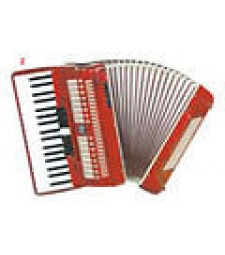 "Aidi Accordion ""80 Bass"" Includes Case & Strap"