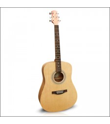 Ashton D45S Acoustic Solid Top Guitar