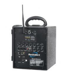 SOUNDART PWA-40M PORTABLE P.A. Rechargable battery powered amp