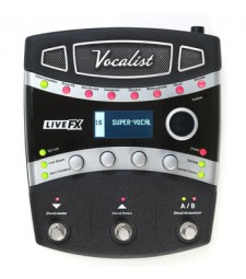 Digitech Vocalist LiveFX - Vocal Effects Processor Pedal Live FX