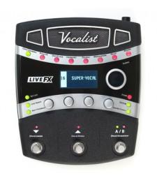 Digitech Vocalist LiveFX - Vocal Effects Processor Pedal Live FX