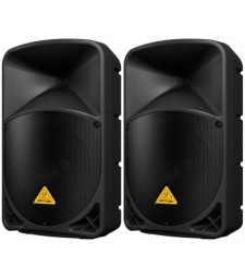 "2x Behringer B112W 2-Way 12"" 1000-watt Powered Speaker with Bluetooth"
