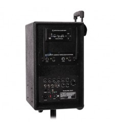 Soundart PWA-100-D Rechargeable Wireless PA With CD/DVD/MP3 Player