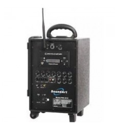 Soundart PWA-65-D Rechargeable Wireless PA With CD/DVD/MP3 Player