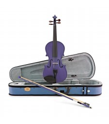 Stentor 1/2 Size Harlequin Series Violin Outfit + Case & Bow