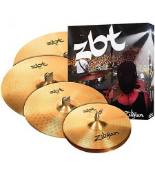 "Zildjian ZBT-5 Cymbal Set 14"" Hi-Hats 16"" Crash 20"" Ride 18"" Crash"