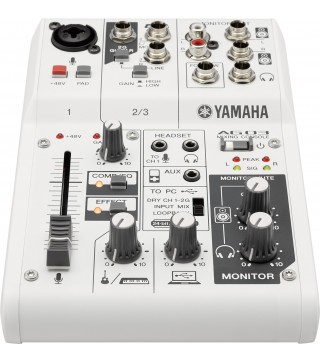 Yamaha AG03 Multi-Purpose 3-Channel Mixer/USB Audio Interface