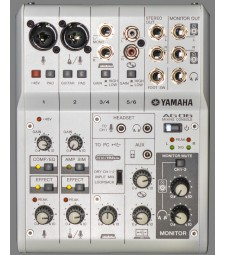 Yamaha AG06 Multi-Purpose 6-Channel Mixer/USB Audio Interface