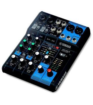 Yamaha MG06X 6 Input Mixer w/ FX