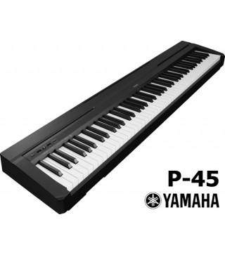Yamaha P-45B Digital Piano