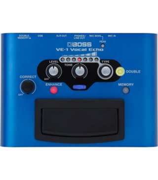 Boss VE-1 Vocal Echo Effects Pedal